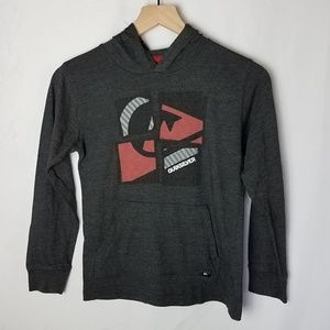 Quiksilver Boys Hoodie Charcoal Gray Small 7 - 8